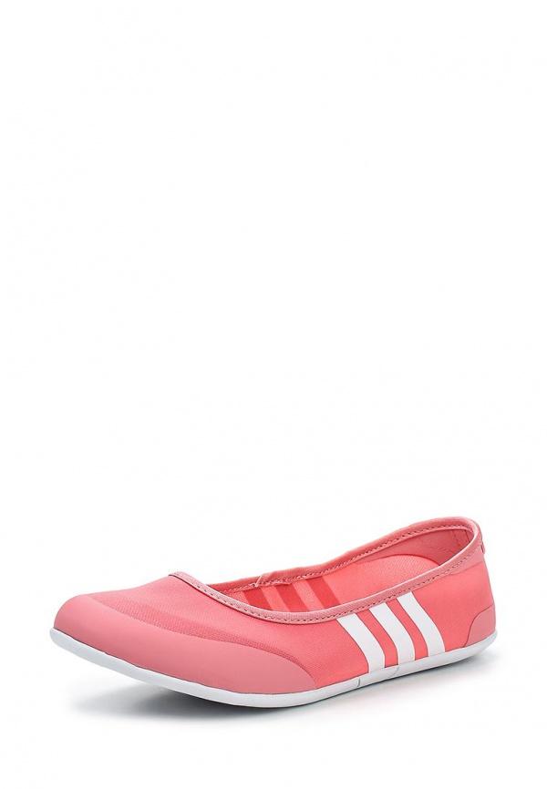 Балетки adidas Neo F97968 розовые