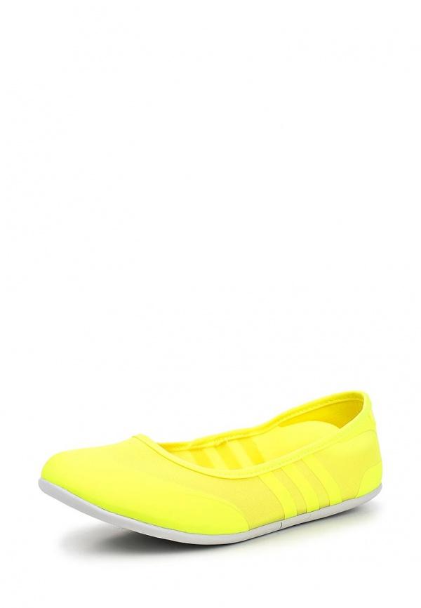 Балетки adidas Neo F97969 жёлтые