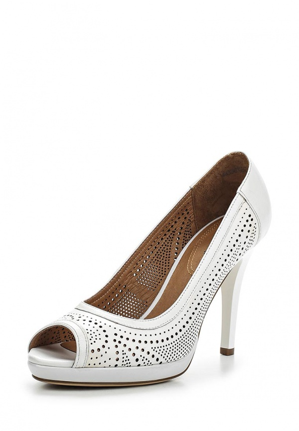 Туфли Covani N3387221 белые