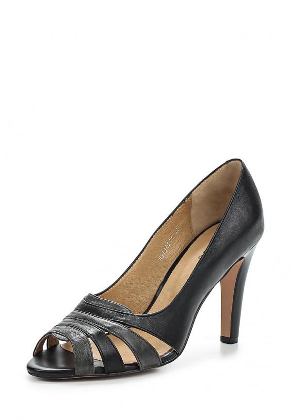 Туфли Covani N3625211 серые, чёрные