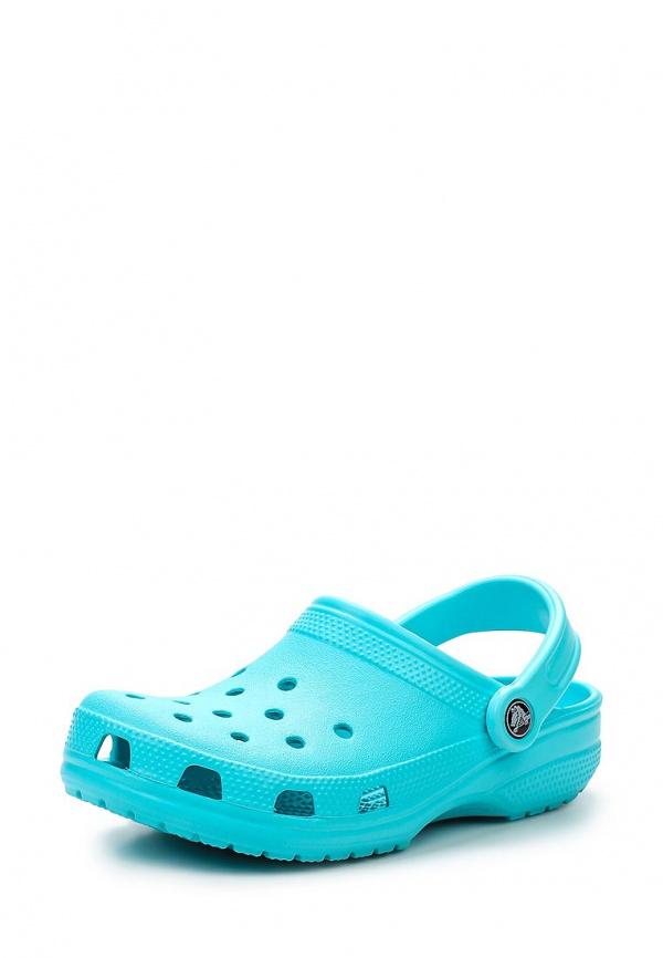 Сабо Crocs 10001-40M голубые