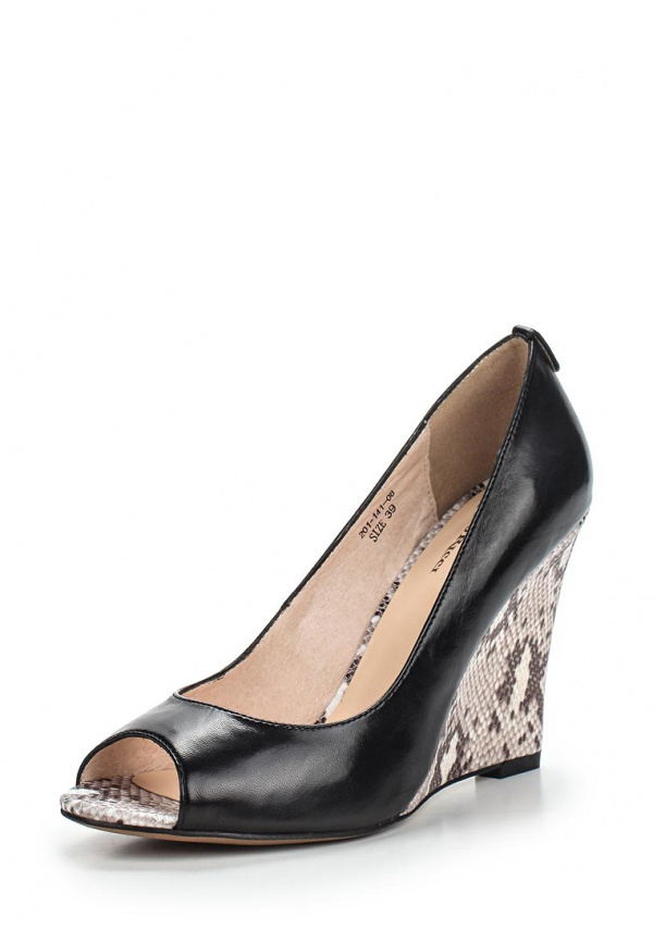 Туфли Dino Ricci 201-141-08 чёрные