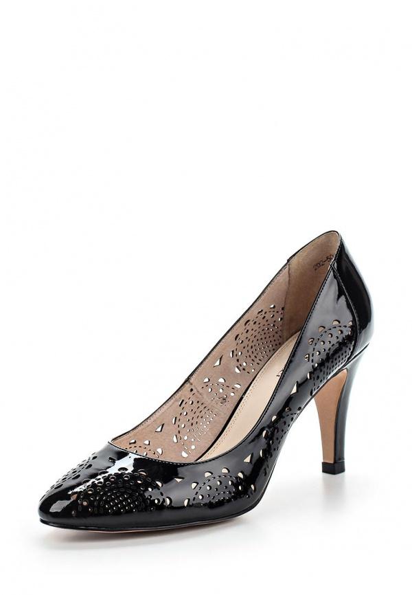 Туфли Dino Ricci 202-50-131 чёрные