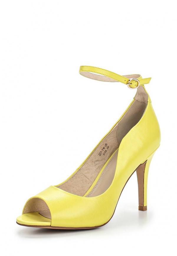 Туфли Dino Ricci 227-116-25 жёлтые