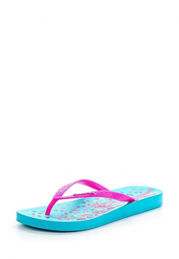 Сланцы Ipanema 81664-22471-A голубые, розовые