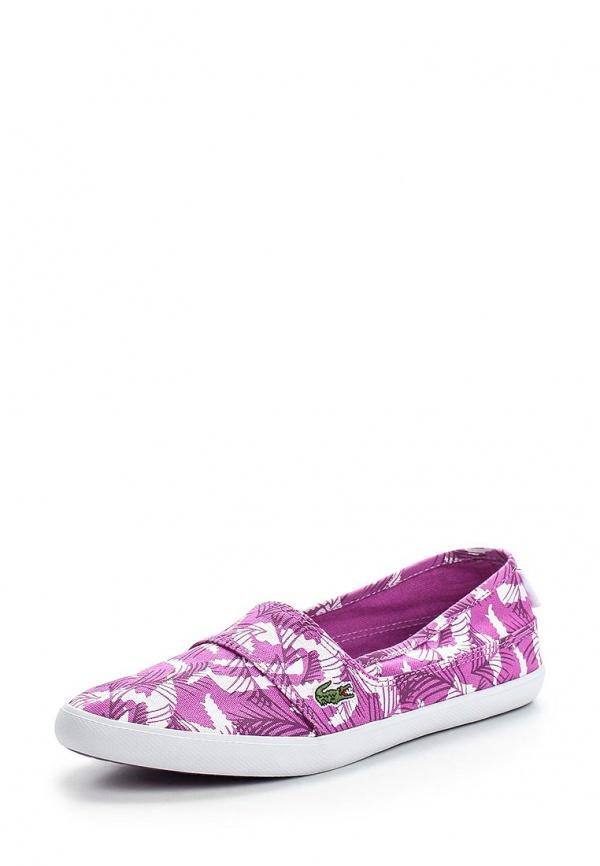 Слипоны Lacoste SPW101684X фиолетовые