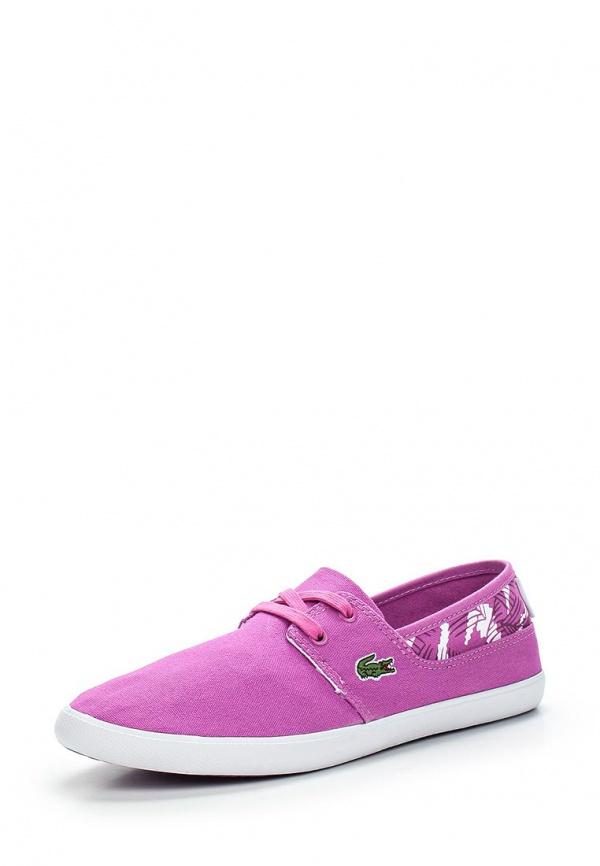 Кеды Lacoste SPW1017P1H фиолетовые