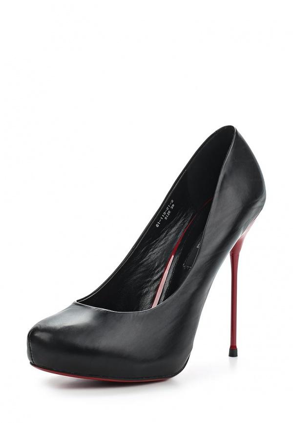 Туфли Paolo Conte 61-119-21-2 чёрные