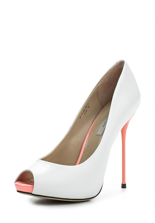 Туфли Paolo Conte 61-119-10-2 белые