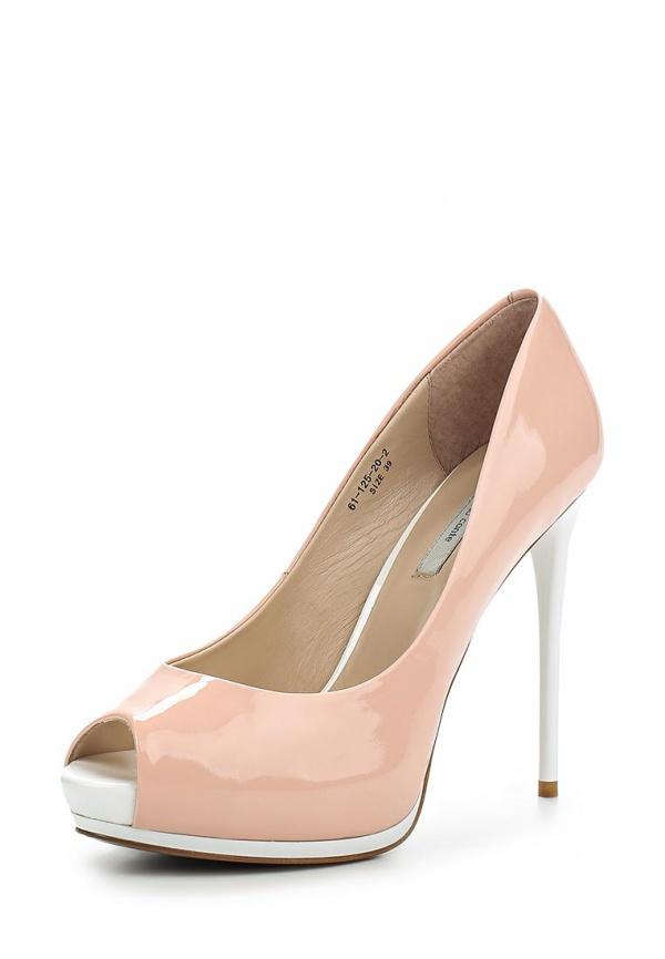 Туфли Paolo Conte 61-125-20-2 розовые