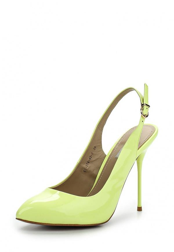 Босоножки Paolo Conte 61-174-42-2 зеленые