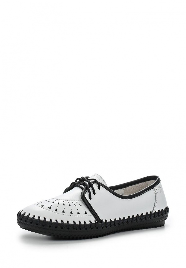 Ботинки Spur SM3063_03_24_WHITE белые, чёрные