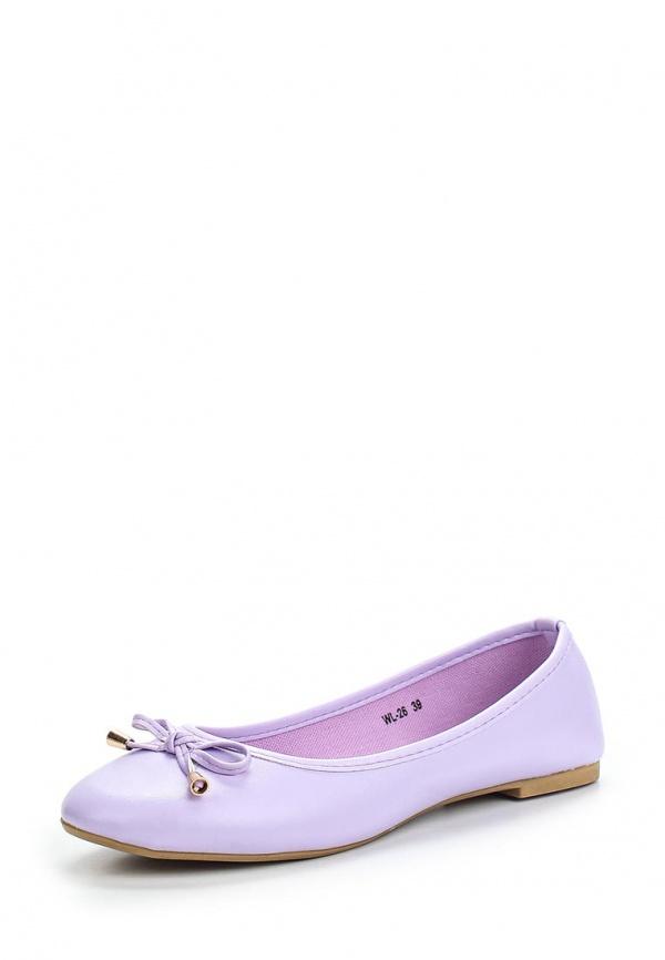 Балетки WS Shoes WL-26 фиолетовые
