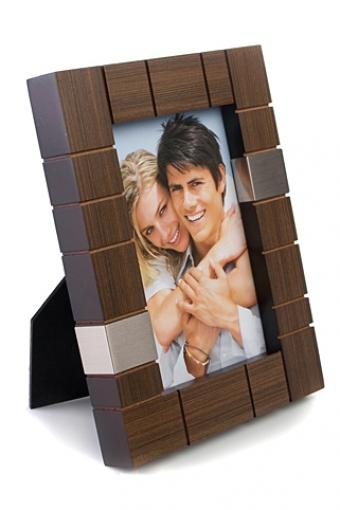 """Рамки для фотографий Красный куб Рамка для фото """"Классика клетки"""""""