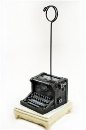 """Держатели-зажимы для фото Красный куб Держатель для карточек """"Печатная машинка"""""""