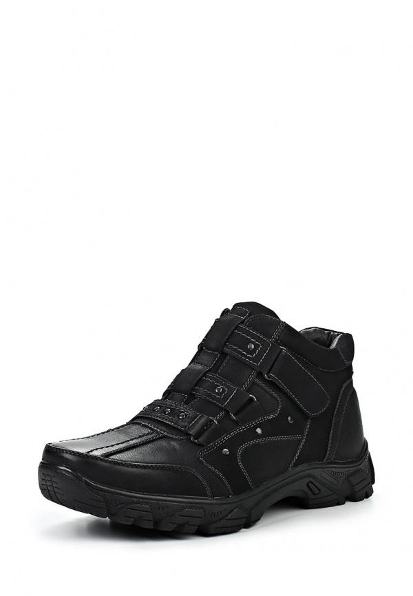 Ботинки Stesso 601-00B4Z-3A чёрные