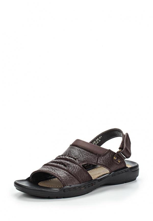Сандалии Dino Ricci 128-06-01 коричневые