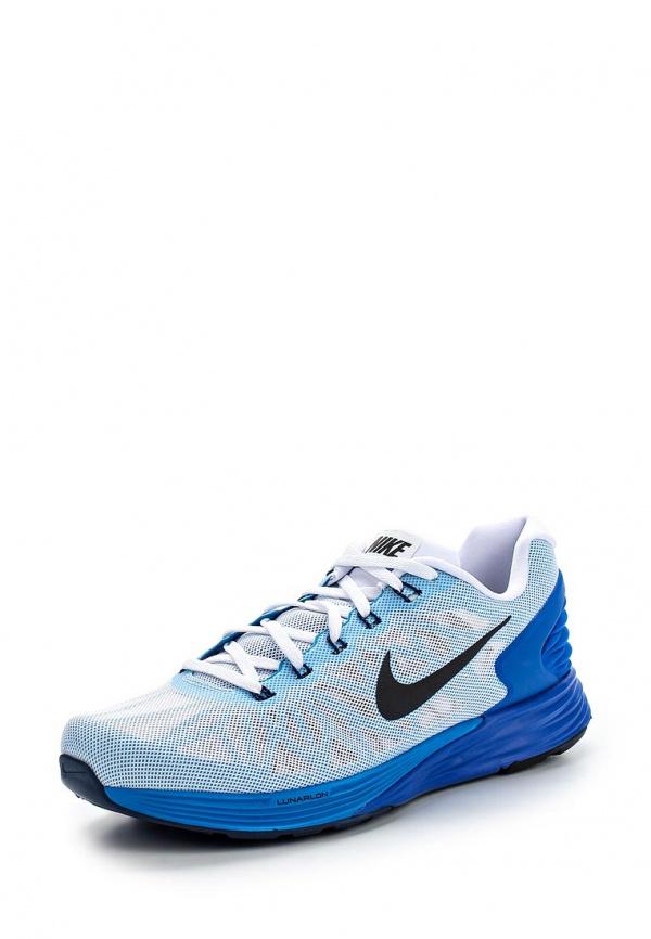 Кроссовки Nike 654433-104 белые, синие