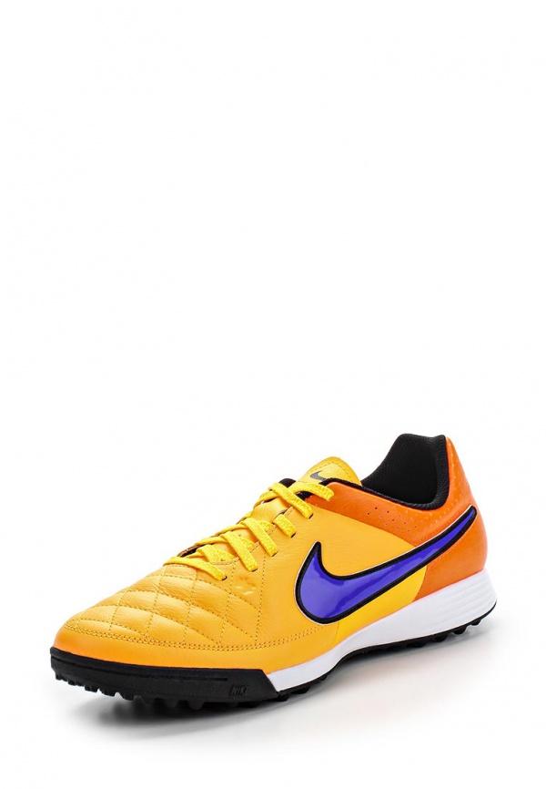 Шиповки Nike 631284-858 оранжевые