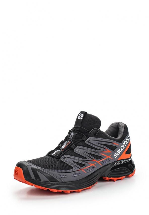 Кроссовки Salomon L37064100 серые, чёрные