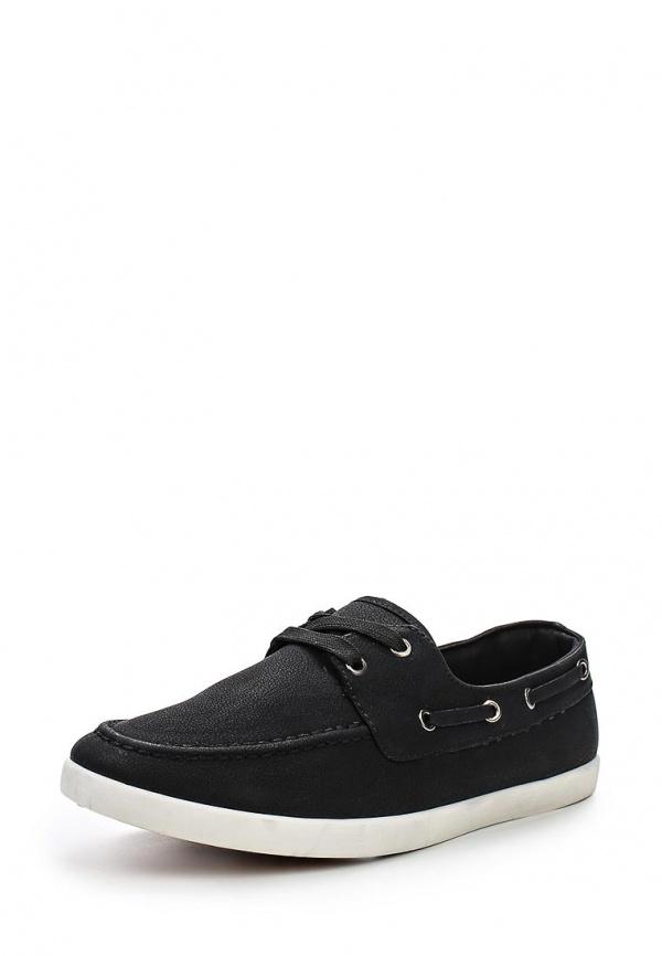 Кеды T.P.T. Shoes T-0365 чёрные