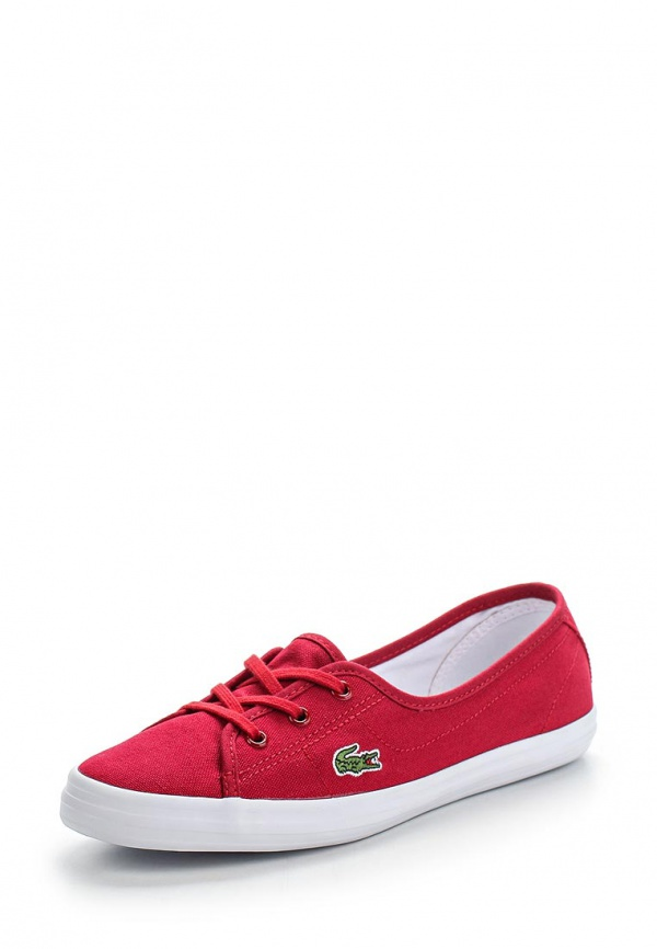 Кеды Lacoste SPW1054DR2 красные
