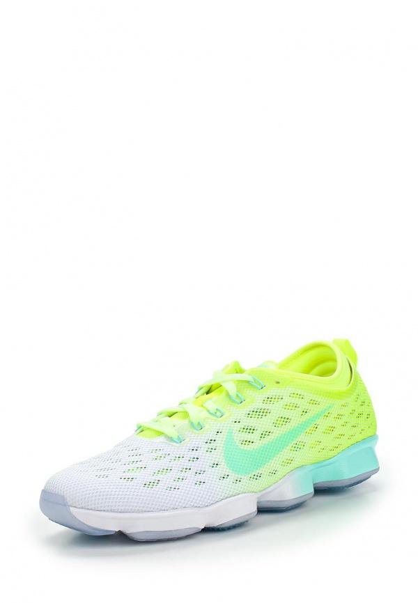 Кроссовки Nike 684984-702 белые, жёлтые