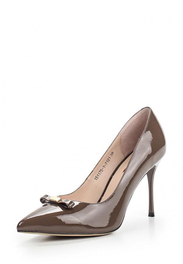 Туфли Milana 151175-1-7121 коричневые