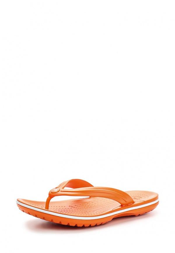Сланцы Crocs 11033-846 оранжевые