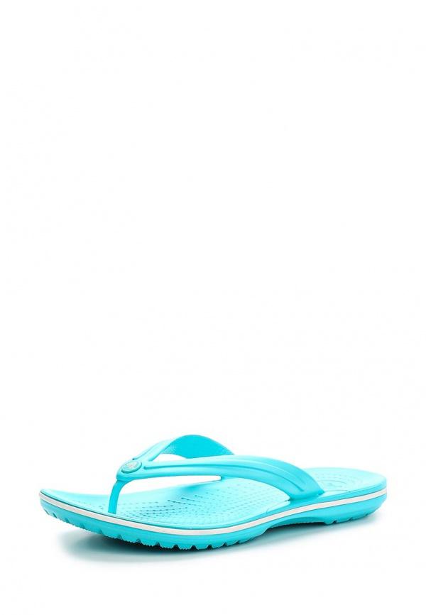 Сланцы Crocs 11033-4DY голубые