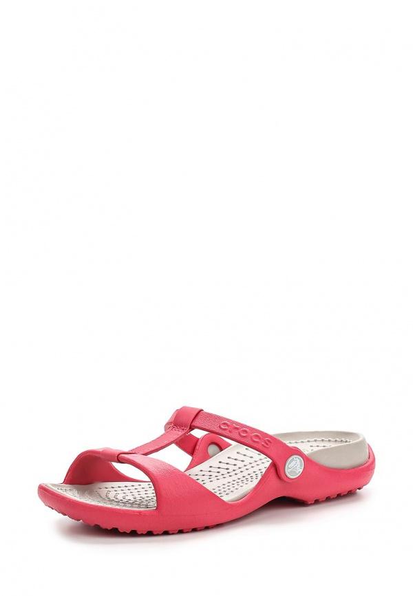 Сланцы Crocs 11216-6IU розовые
