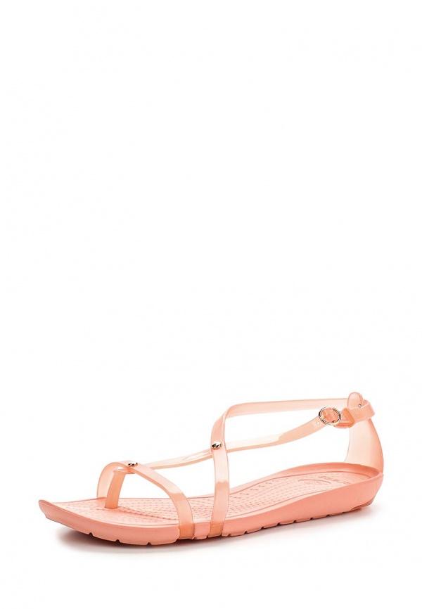 Сандалии Crocs 14175-6JC розовые