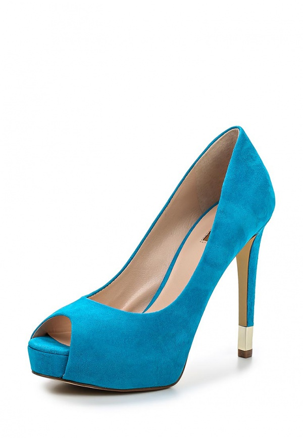 Туфли Guess FL2HAD sue07 голубые