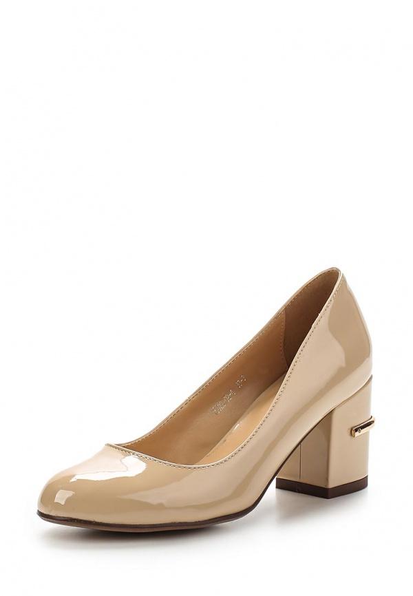 Туфли Inario 15322-02-4 бежевые