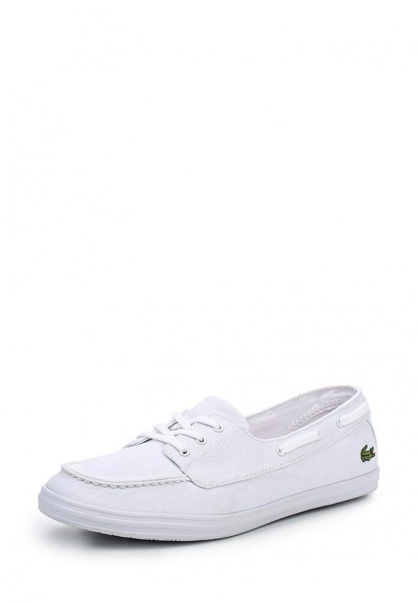 Кеды Lacoste SPW103021G белые