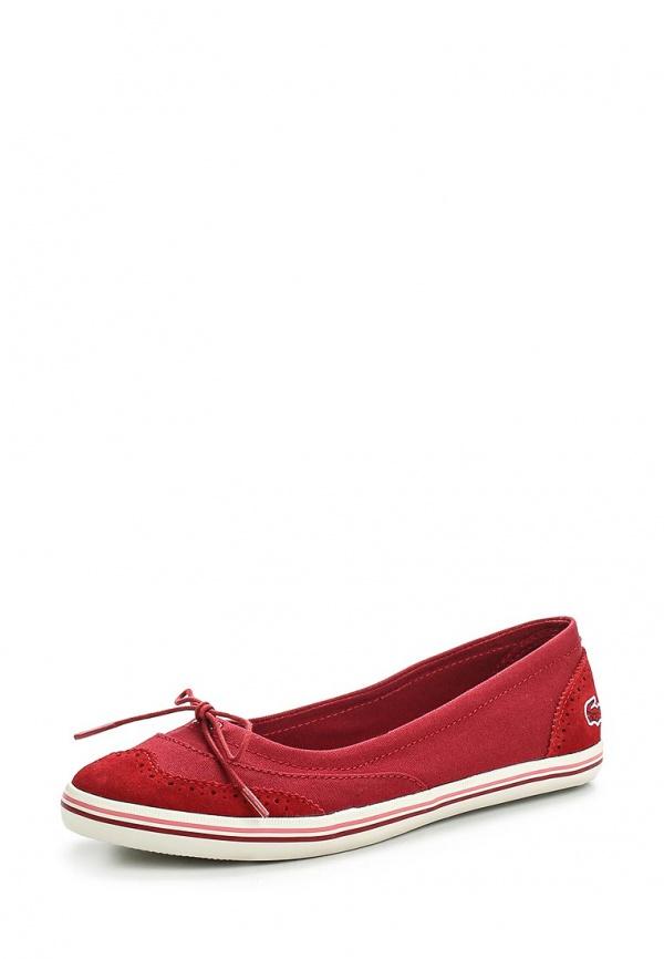 Балетки Lacoste SRW0128047 красные
