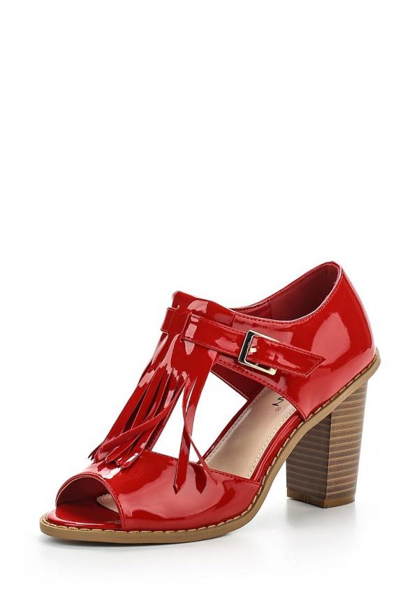 Босоножки Stephan M1-1 красные