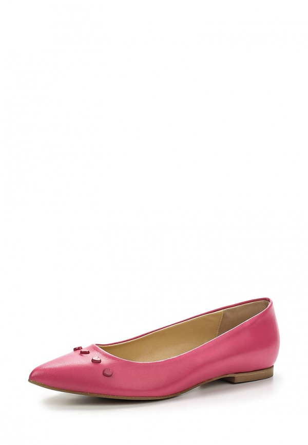 Балетки Love Moschino JA11021C0KJA0604 розовые
