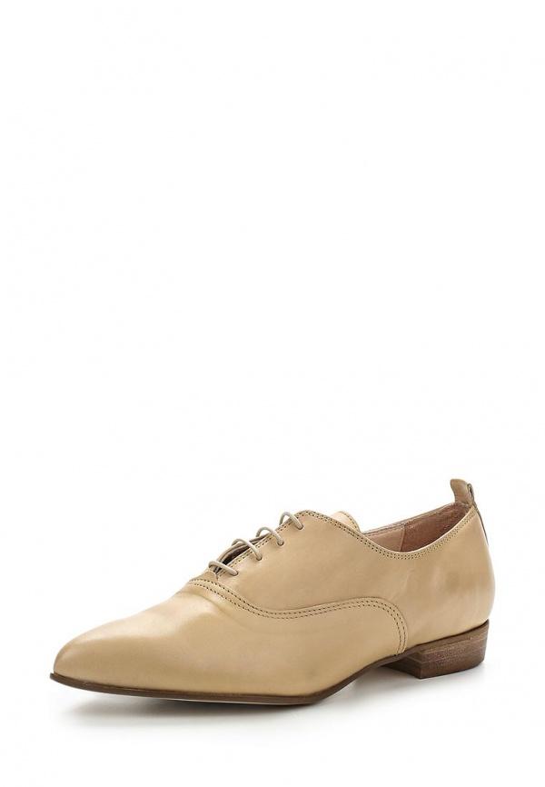 Ботинки Paola Ferri 5037 бежевые
