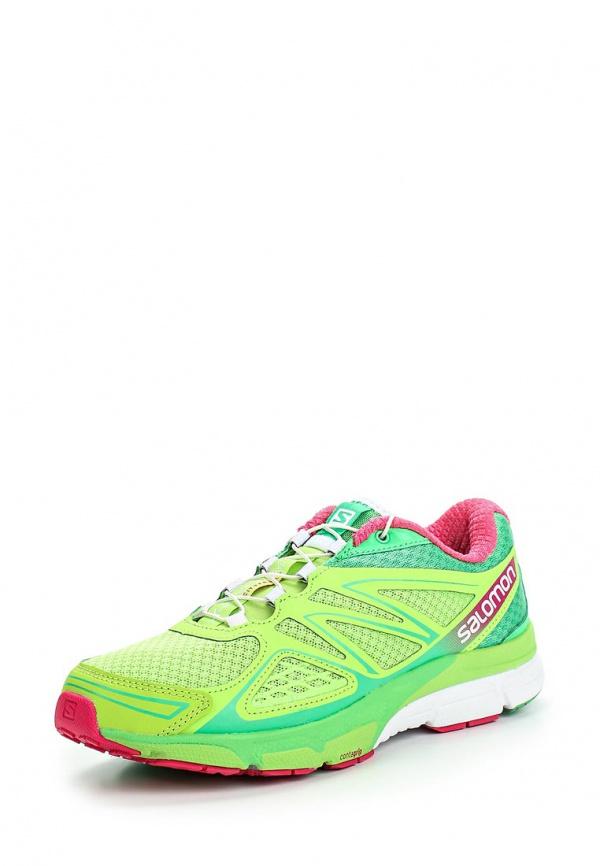 Кроссовки Salomon L37167500 зеленые