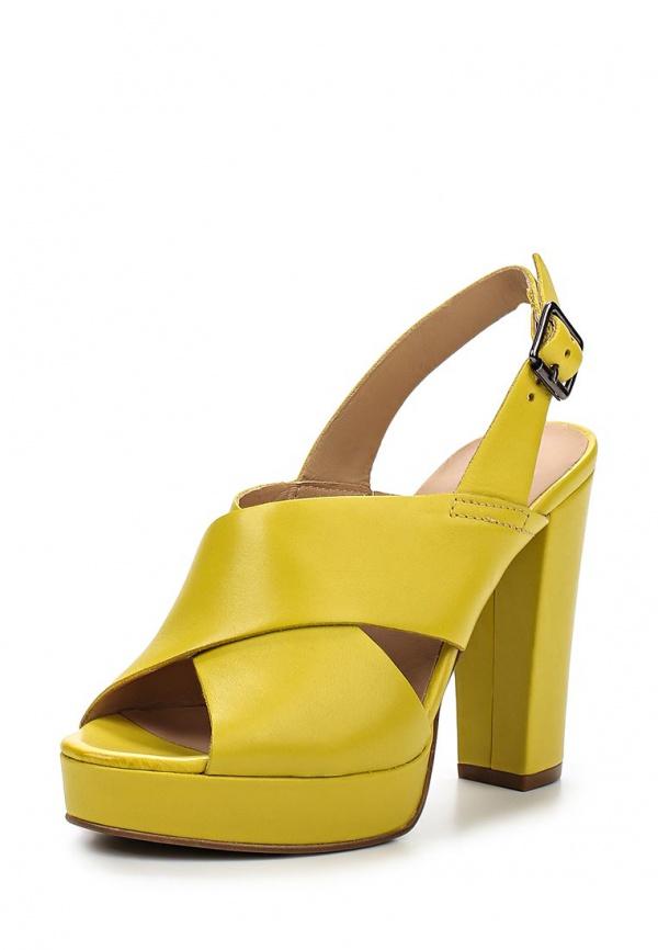 Босоножки Carmens Padova 35212 жёлтые