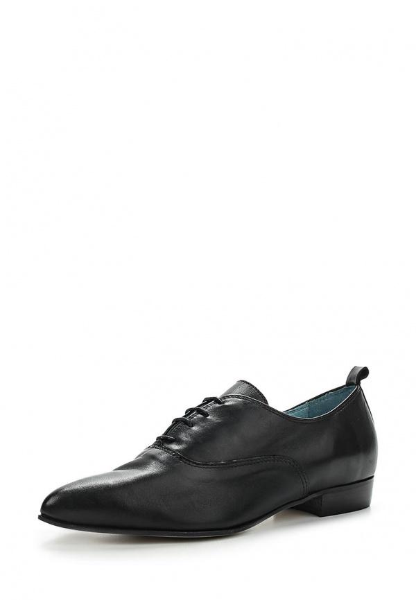 Ботинки Paola Ferri 5037 чёрные