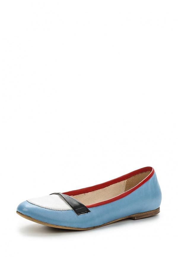Балетки Paola Ferri 5101 голубые