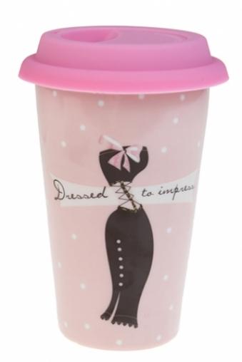 """Термокружки и стаканы для чая/кофе Красный куб Стакан для чая/кофе """"Фэшн"""""""