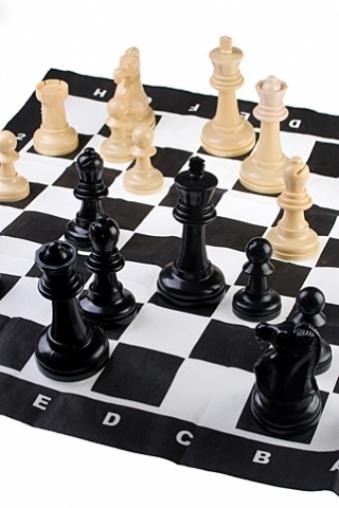 """Настольные игры для детей и взрослых Красный куб Набор игровой """"Гигантские шахматы"""""""