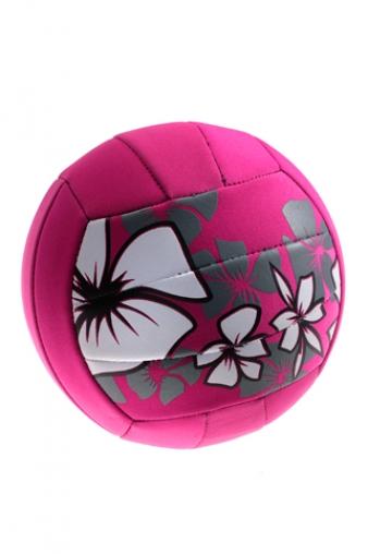 """Игры на природе Красный куб Мяч для пляжного волейбола """"Крупные цветы"""""""