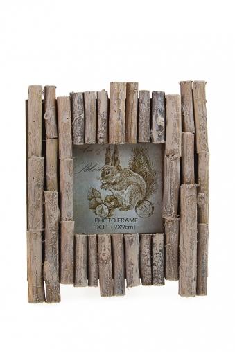 """Деревянные фоторамки Красный куб Рамка для фото """"Бамбук"""""""
