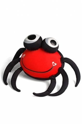 """Игрушки-подушки и держатели для мобилы Красный куб Игрушка мягкая """"Краб"""""""