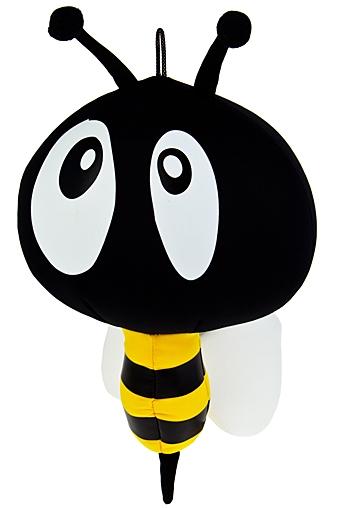 """Релаксанты Красный куб Игрушка мягконабивная """"Удивленная пчелка"""""""