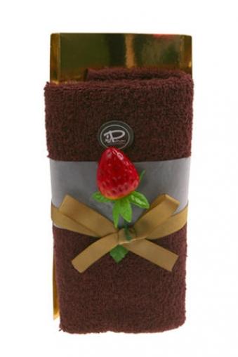 """Наборы для ванной Красный куб Набор подарочный """"Шоколадный рулет"""""""